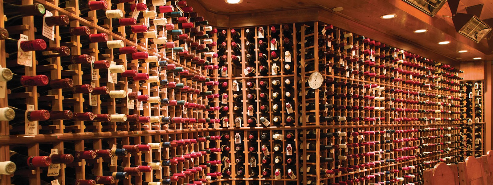Wine cellar for wine collection